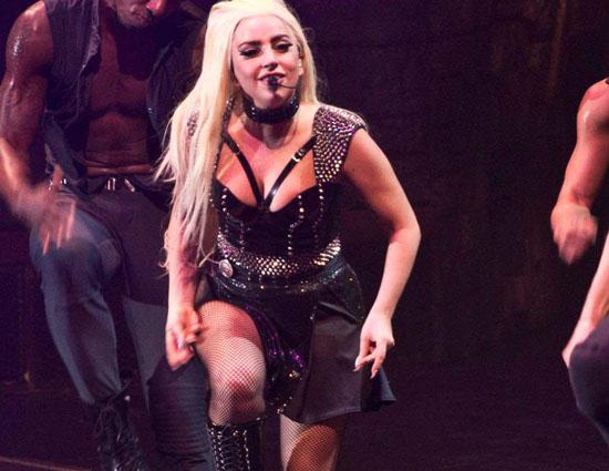 Imágenes de los conciertos de Lady Gaga en Helsinki, Finland.