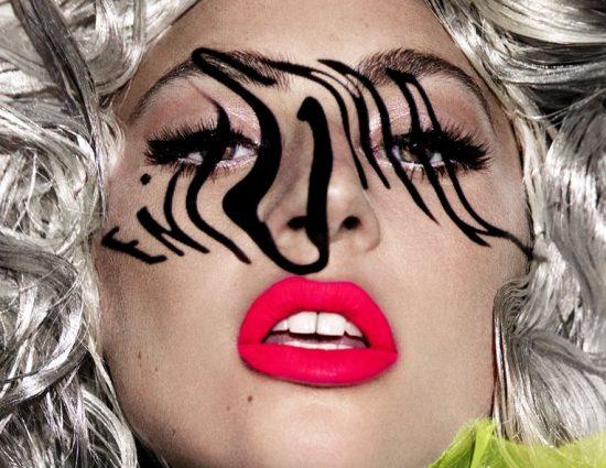 Lady Gaga en los ensayos de Enigma