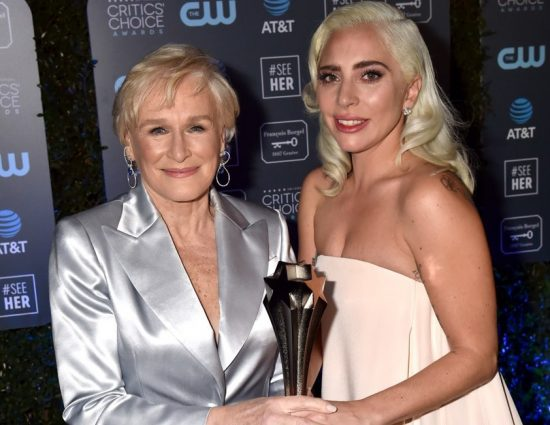 Lady Gaga brilla en los Critics' Choice Awards 2019