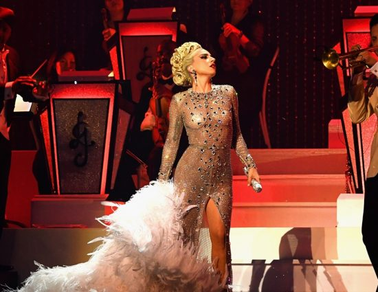Lady Gaga comienza su show 'Jazz & Piano' en Las Vegas
