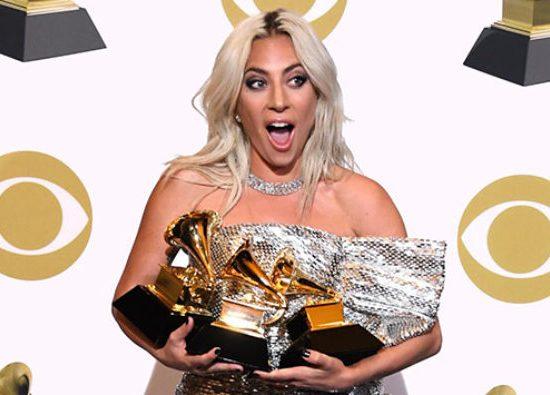 Lady Gaga obtiene 3 nominaciones al Grammy, incluyendo Canción del Año