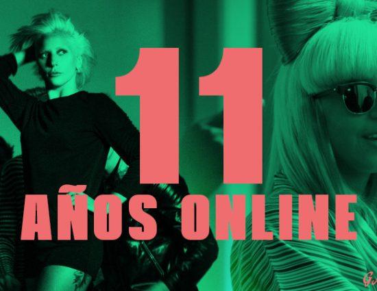 11 años de GagaPop.com y GagaPictures.com